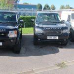 Land Rover rental